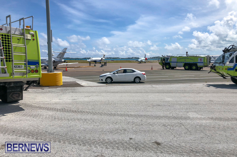 Fuel Spill Plane Bermuda, May 28 2018-2