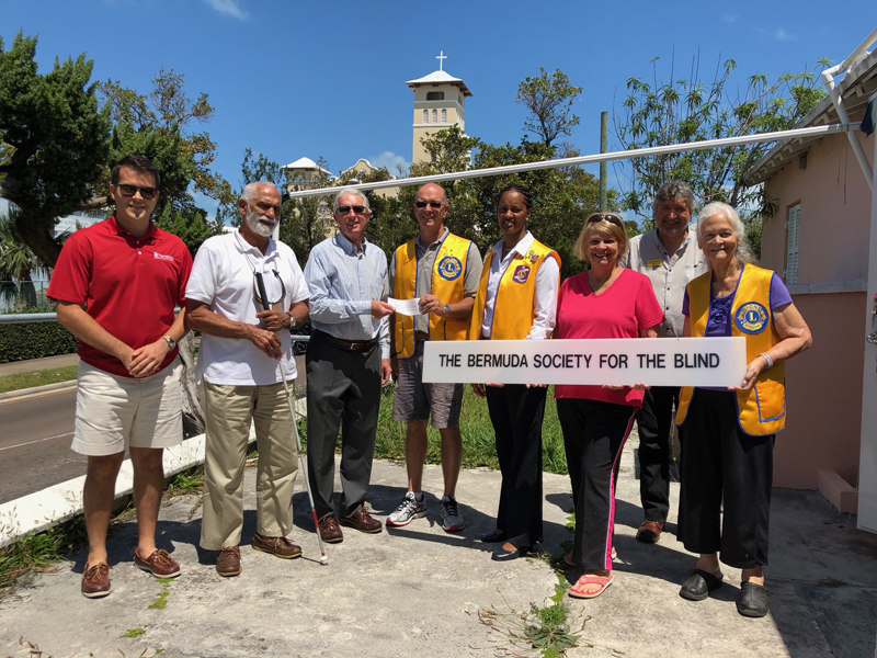 Gas O Rama cheque presentation Bermuda May 2018