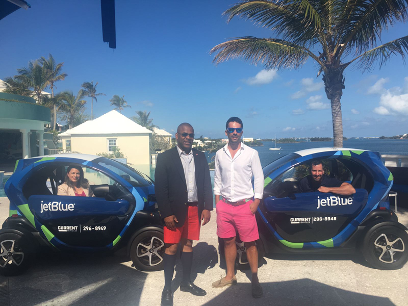 JetBlue Twizy Bermuda May 2018