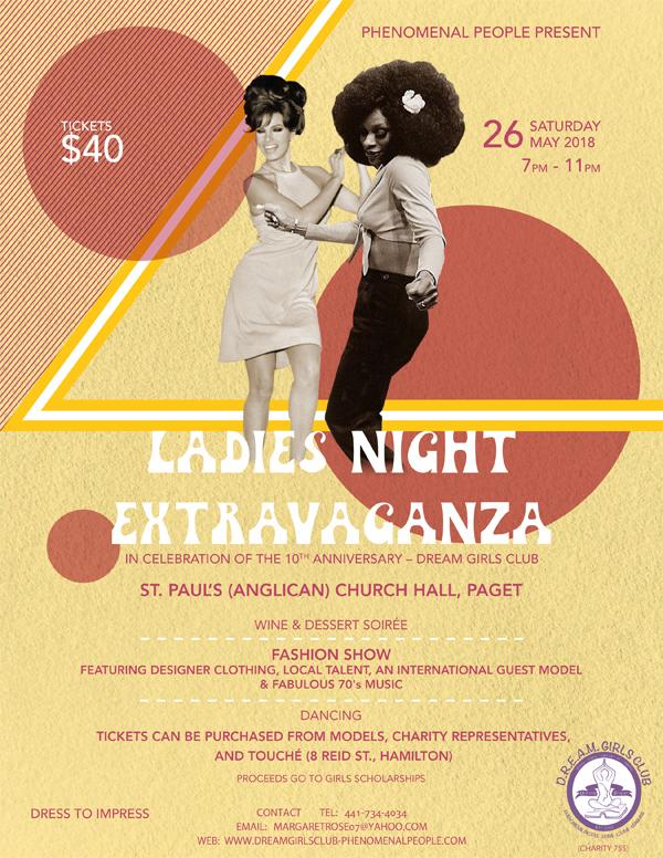 Ladies Night Extravaganza Bermuda May 2018
