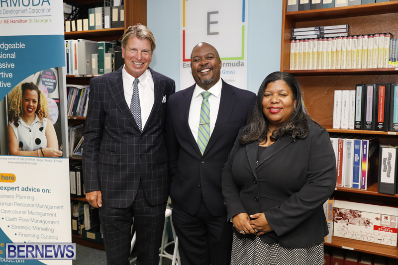 Minister Jamahl Simmons press conference Bermuda May 14 2018