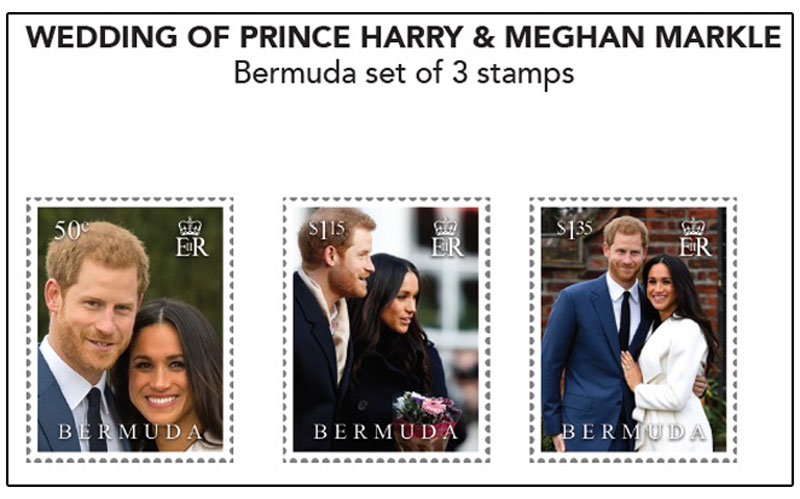 Royal Wedding Commemorative Stamp 01