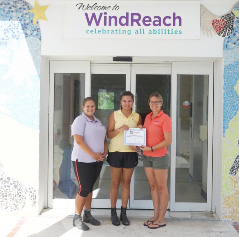 Annika Kuruvilla Student Volunteer Bermuda June 2018