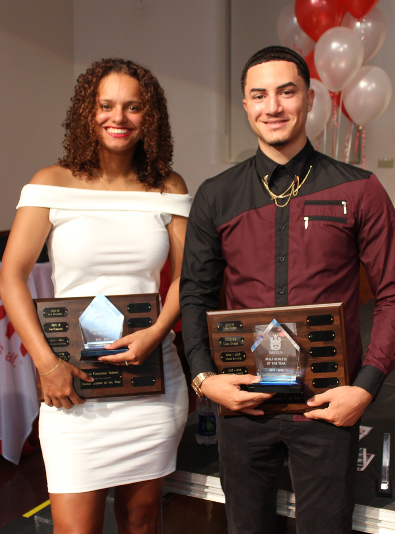 Athletes of the Year Bermuda June 2018