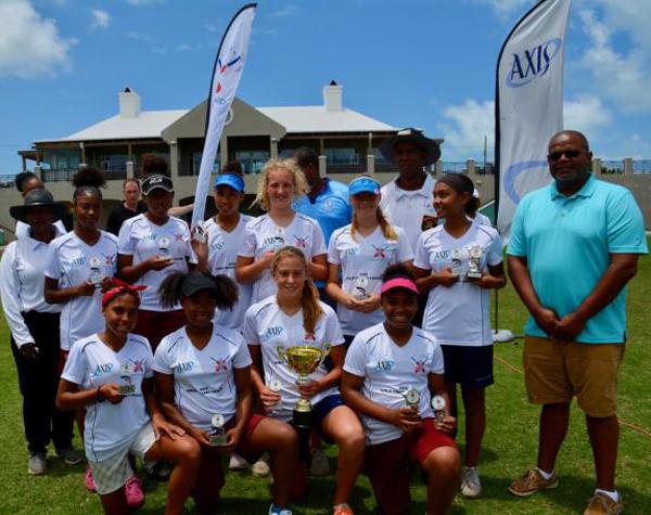 Axis Girls Middle School Cricket Bermuda June 2018 (1)