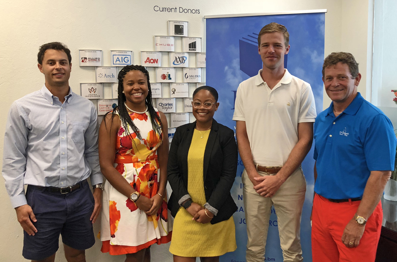 BFIS London interns Bermuda June 2018