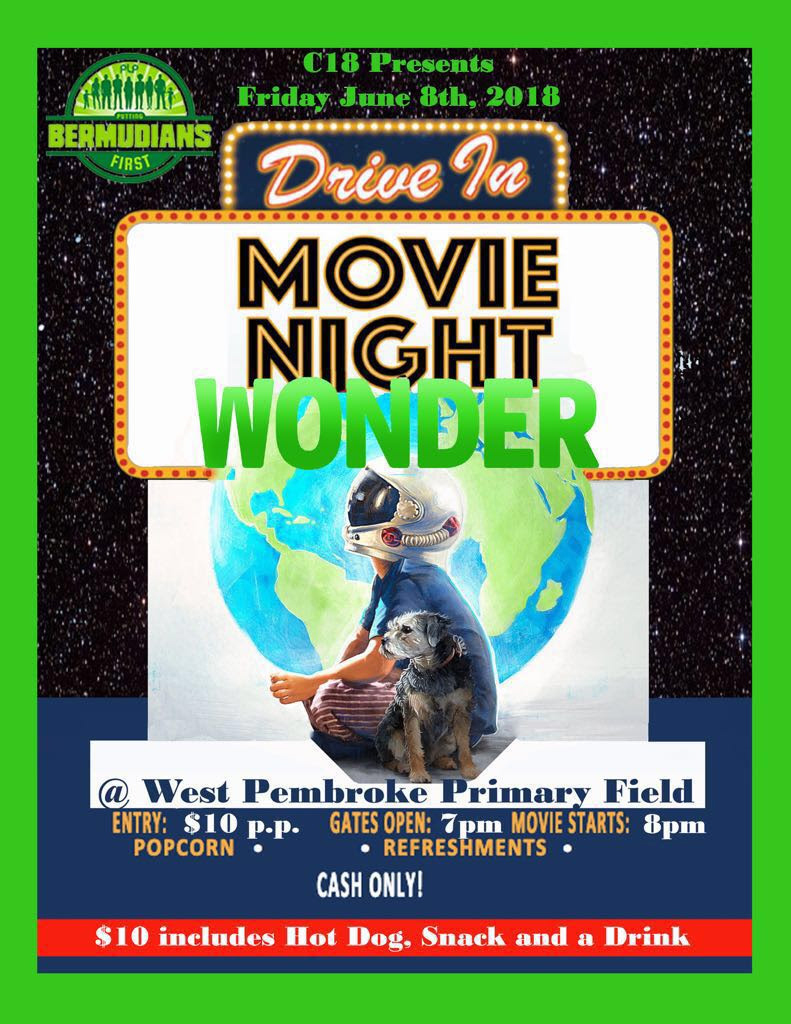 C18 Drive In Movie Night Bermuda June 8 2018