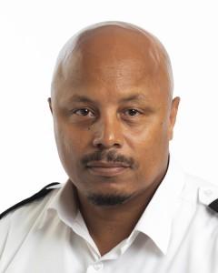 Chief Inspector Jerome Laws Bermuda June 8 2018