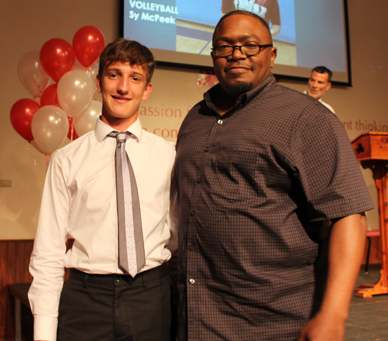 Coach's Award JV Basketball William Mayall Bermuda June 2018