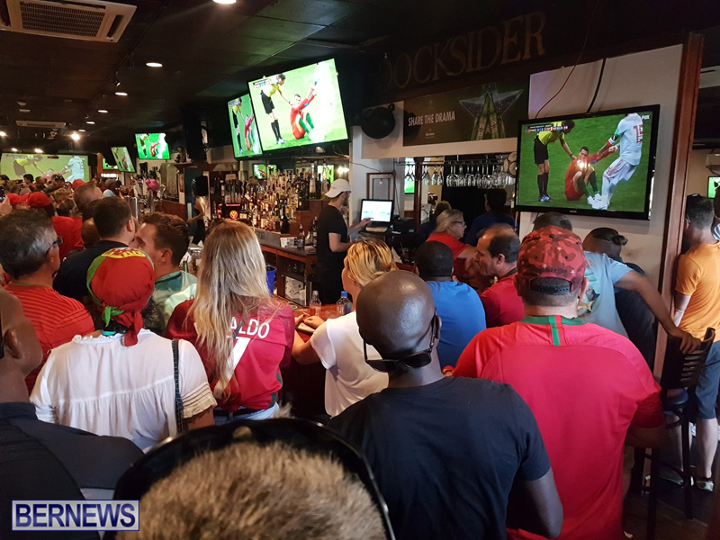 FIFA World Cup match between Spain and Portugal Bermuda June 15 2018 (2)