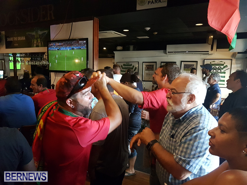 FIFA World Cup match between Spain and Portugal Bermuda June 15 2018 (3)