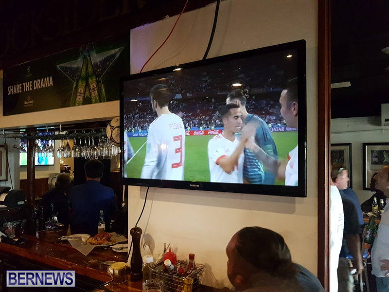 FIFA World Cup match between Spain and Portugal Bermuda June 15 2018 (7)