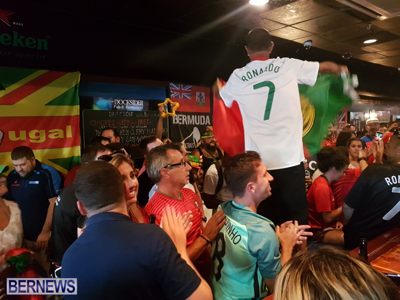 FIFA World Cup match between Spain and Portugal Bermuda June 15 2018 (9)