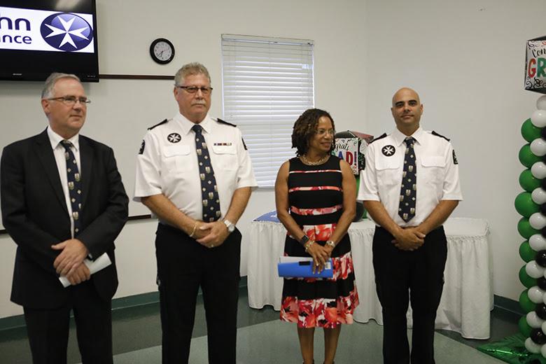 Health Minister St John Ambulance Bermuda June 2018 (1)