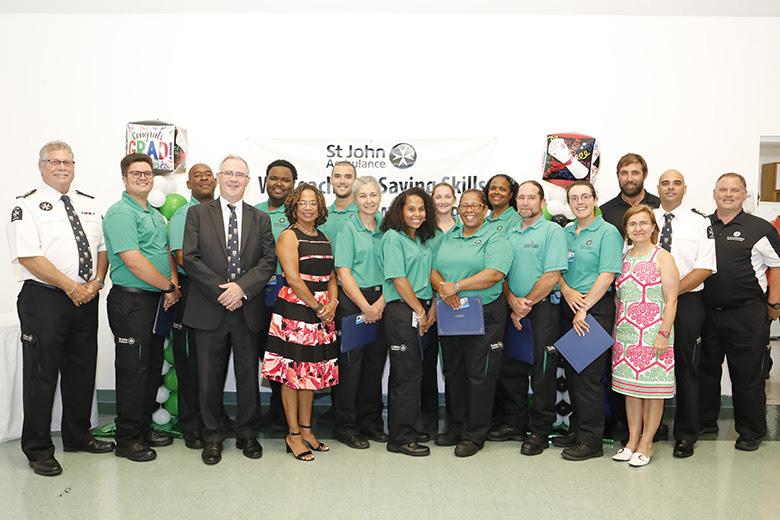 Health Minister St John Ambulance Bermuda June 2018 (2)