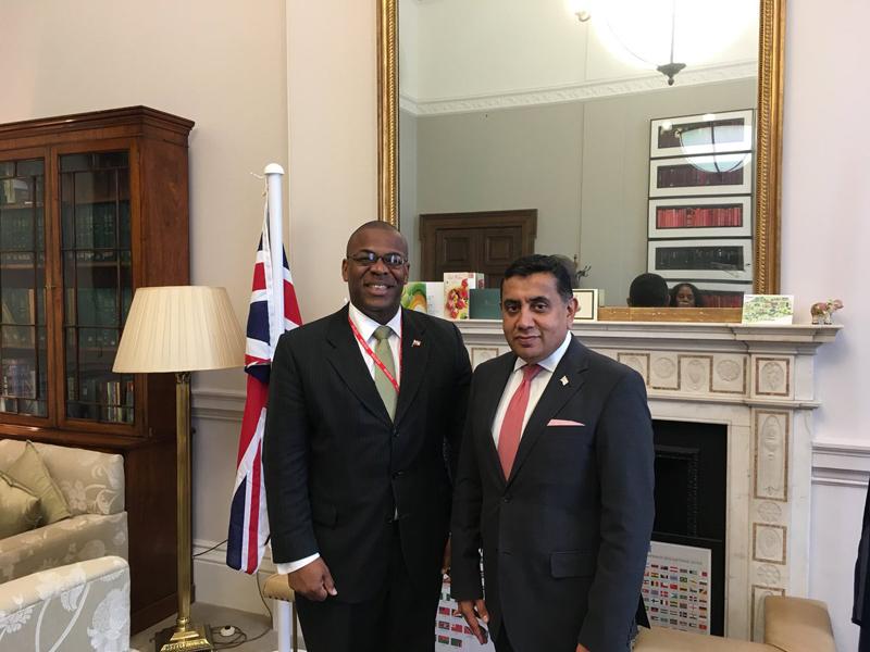 Lord AhmadofWimbledon Bermuda June 15 2018