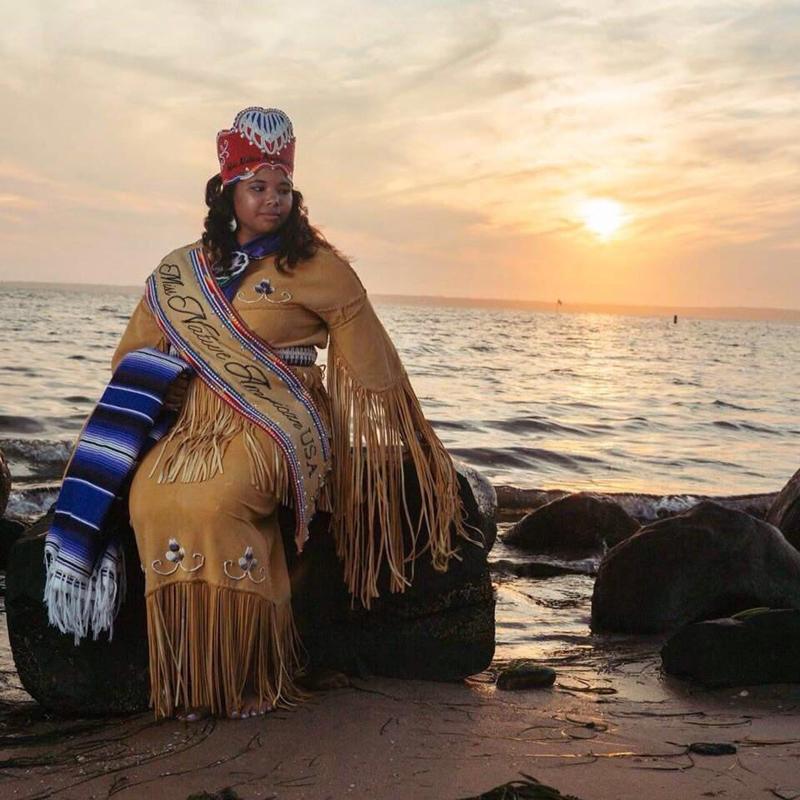 Miss Native American USA Bermuda June 6 2018