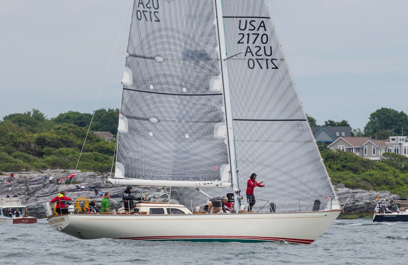 2018 Newport Bermuda Race Start: