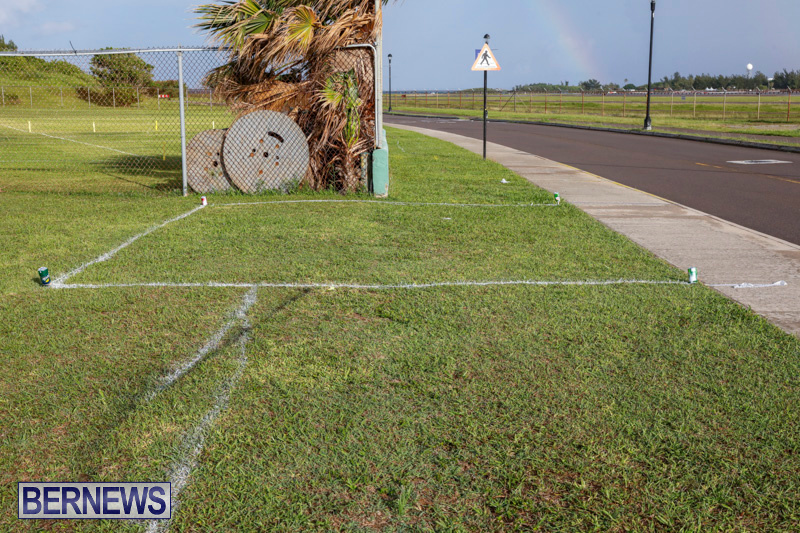 Parade Road Spot Marking Bermuda, June 10 2018-2321