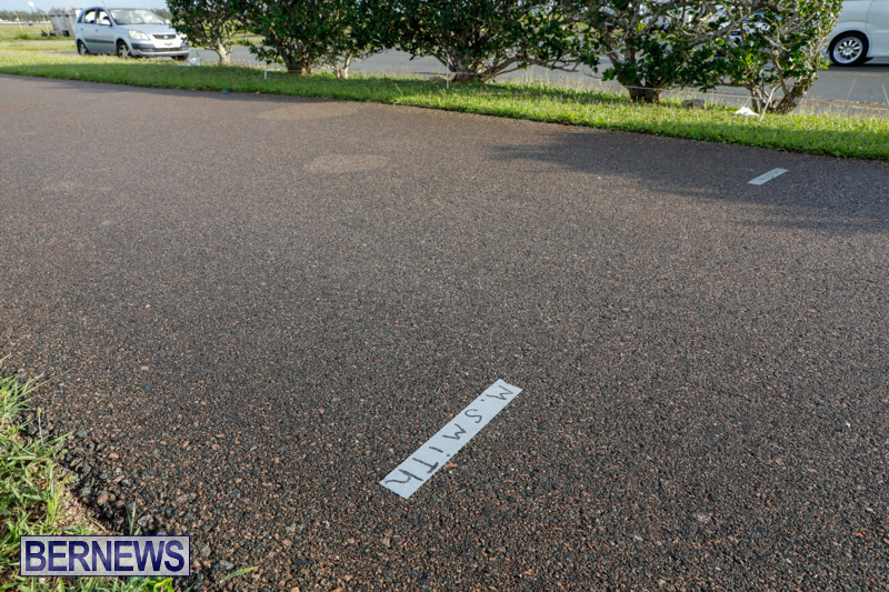 Parade Road Spot Marking Bermuda, June 10 2018-2328