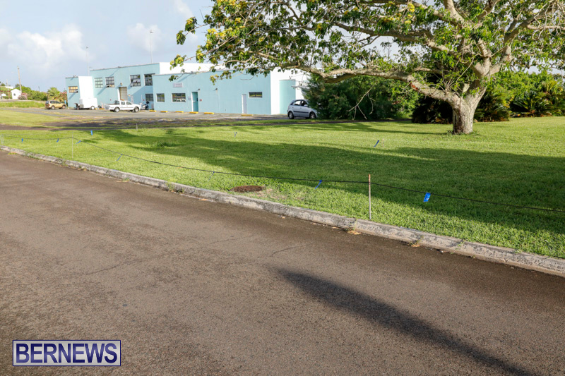 Parade Road Spot Marking Bermuda, June 10 2018-2346