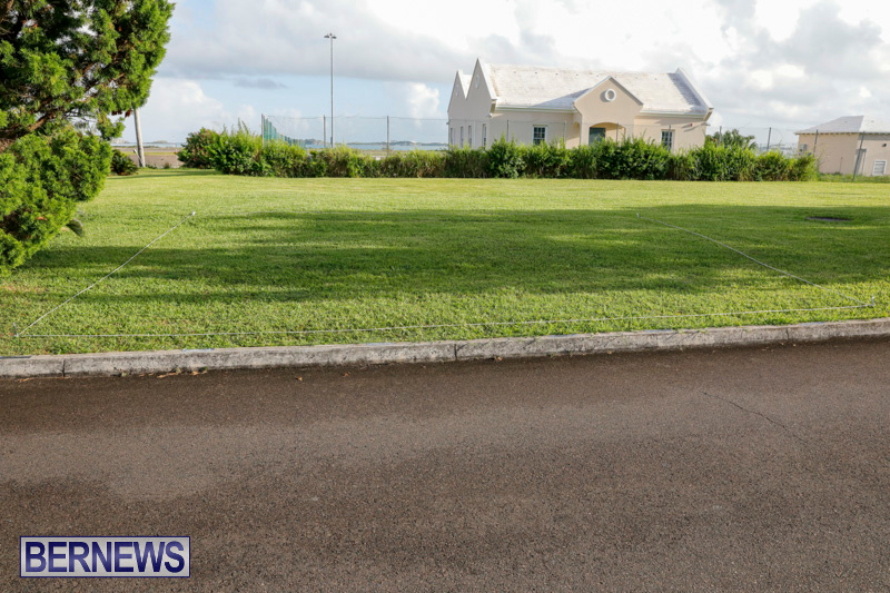 Parade Road Spot Marking Bermuda, June 10 2018-2348
