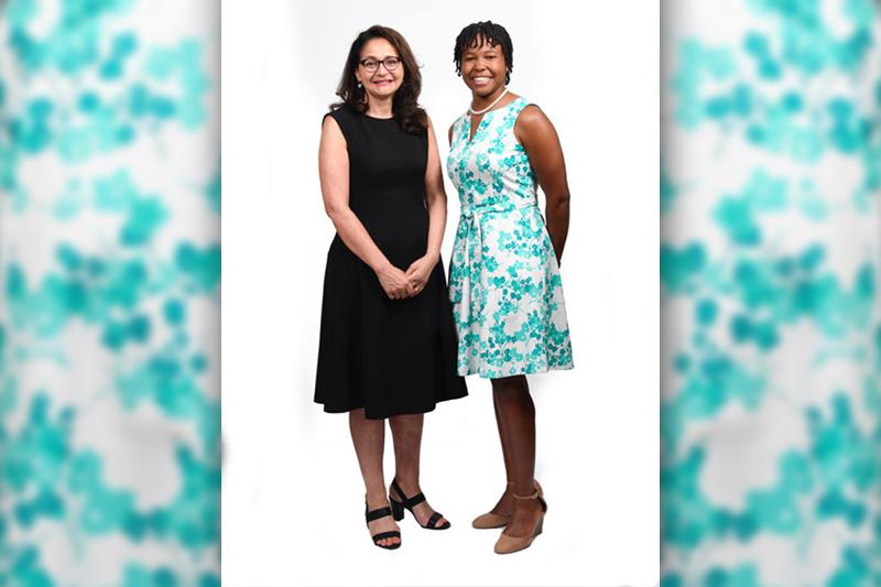 Pina Albo and Ciara Burrows Bermuda June 12 2018