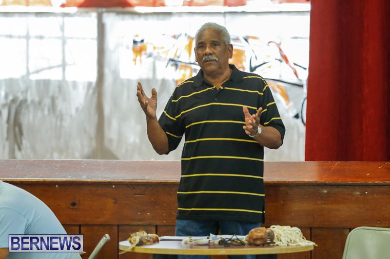 Pow Wow Native Drummers Visit St David's Primary School Bermuda, June 8 2018-9809
