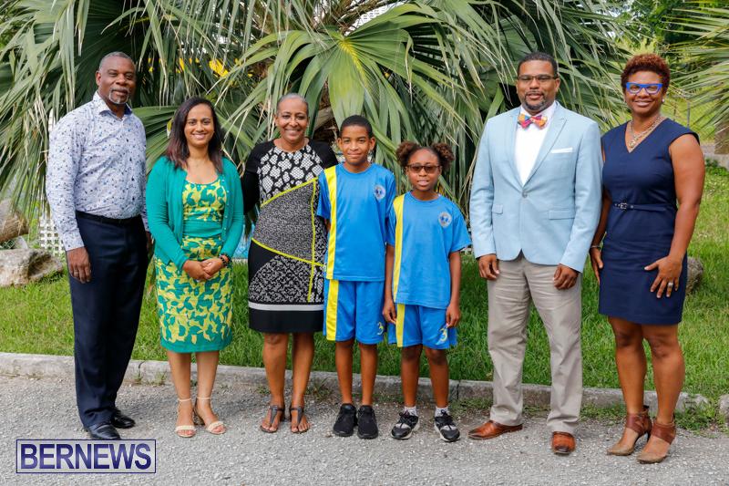 Pow Wow Native Drummers Visit St David's Primary School Bermuda, June 8 2018-9812