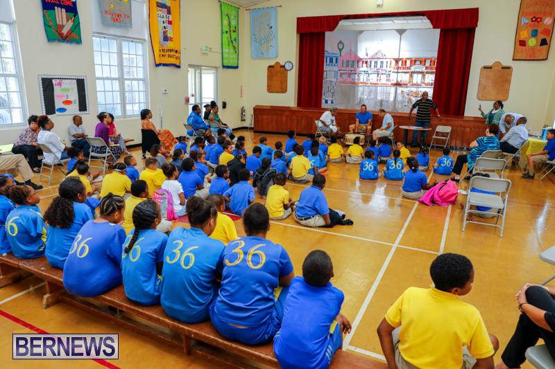 Pow Wow Native Drummers Visit St David's Primary School Bermuda, June 8 2018-9837