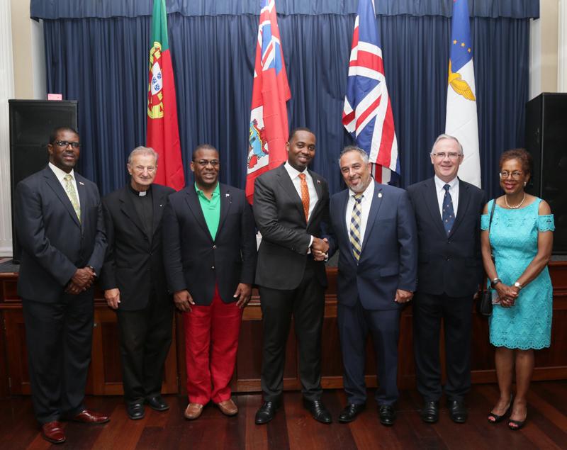 Premier at Portual Day Bermuda June 11 2018