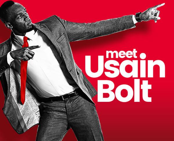 Usain Bolt Bermuda June 19 2018