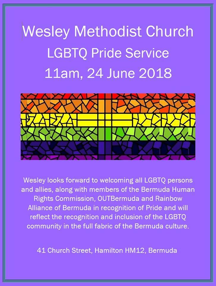 Wesley Methodist Church Bermuda June 20 2018