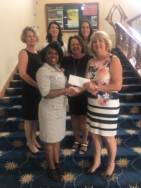 100 Women in Finance Philanthropy Bermuda July 2018