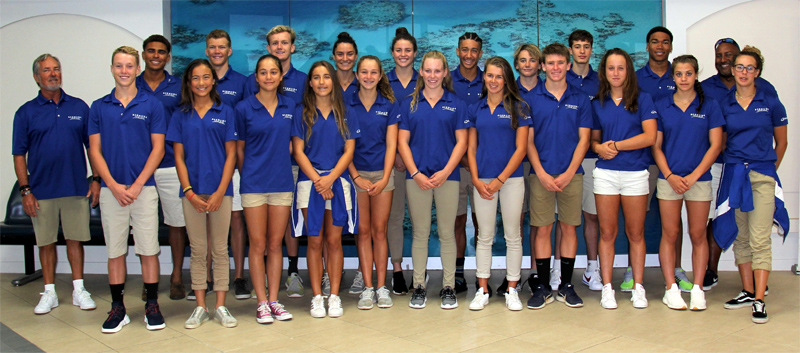 Bermuda CCCAN Swimming Championship team July 2018
