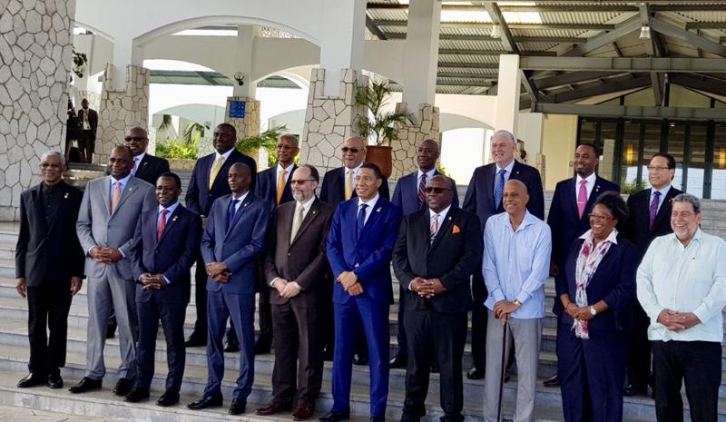 CARICOM Meeting Bermuda July 6 2018