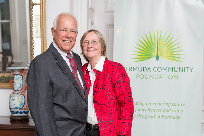 Charlie Marshall and his wife Lesley Bermuda July 2018