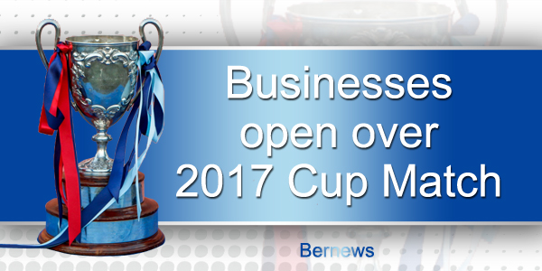 Cup Match open Businesses 2017 TC