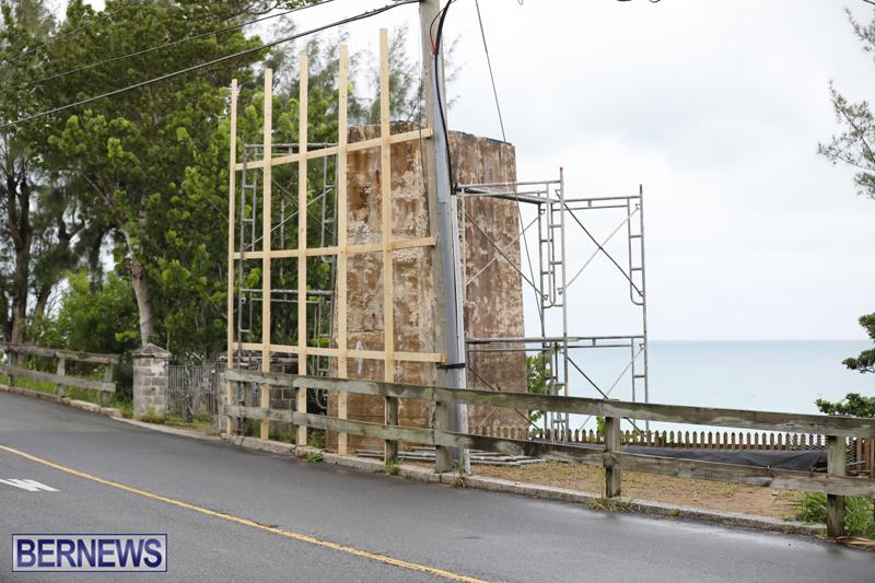 Flatts Police beach area Bermuda July 11 2018 (2)