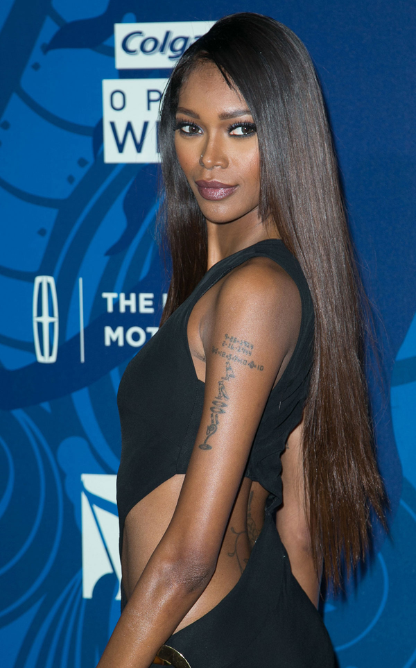 JESSICA WHITE at 2015 Essence Black Women in Music Event in Hollywood