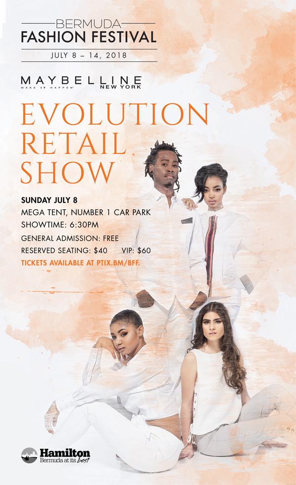 Maybelline Evolution Retail Show Bermuda July 2018