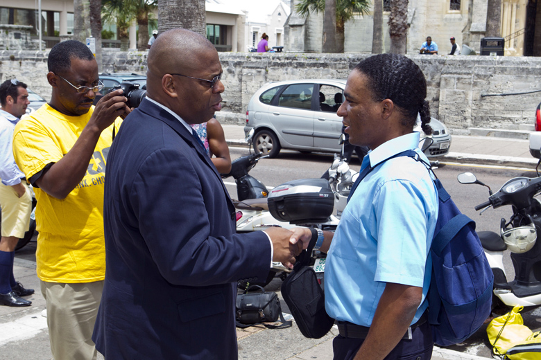 Minister Walter Roban Bermuda July 2018 (1)