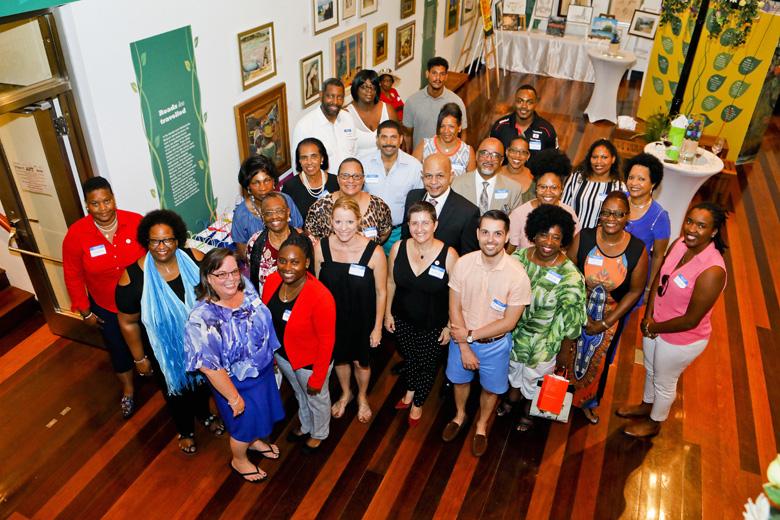 Mirrors Volunteer Appreciation Reception Bermuda July 2018 (5)