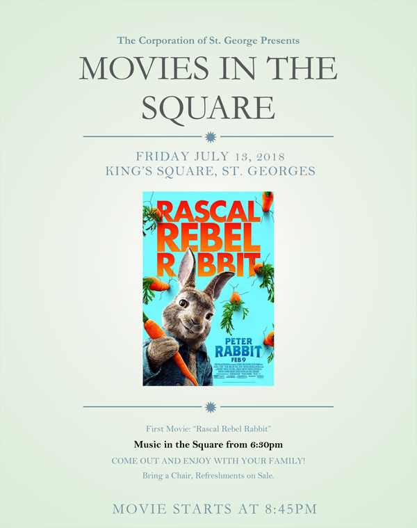 Movies In The Square Bermuda July 2018