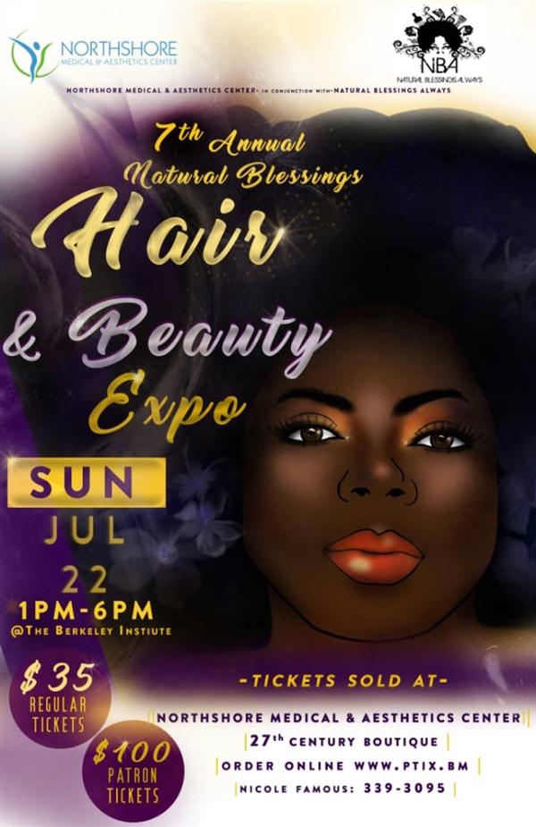 Natural Blessing Hair and Beauty Expo Bermuda July 2018