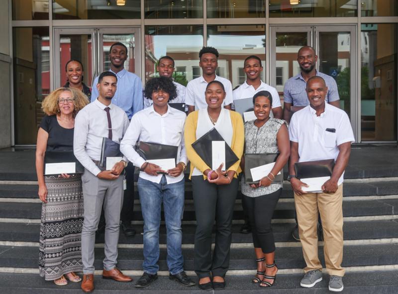 PHC Foundation Scholarship Award Winners Bermuda July 2018