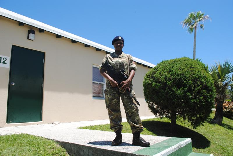 Royal Bermuda Regiment Recruits July 6 2018 (2)