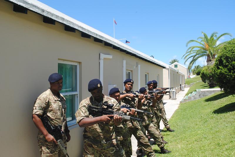 Royal Bermuda Regiment Recruits July 6 2018 (5)