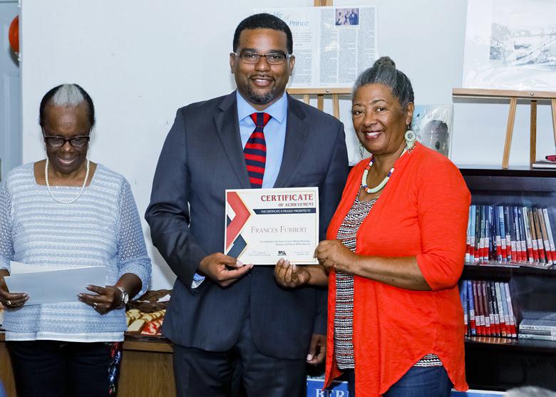 Senior Writers Certificate Presentations Bermuda July 2018 (2)