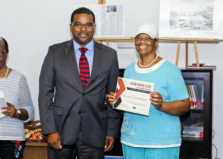 Senior Writers Certificate Presentations Bermuda July 2018 (3)